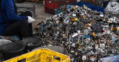 电子废弃物拆解步履维艰 全球受影响何去何从