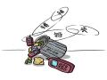 电子垃圾污染排行 废旧手机排行第一