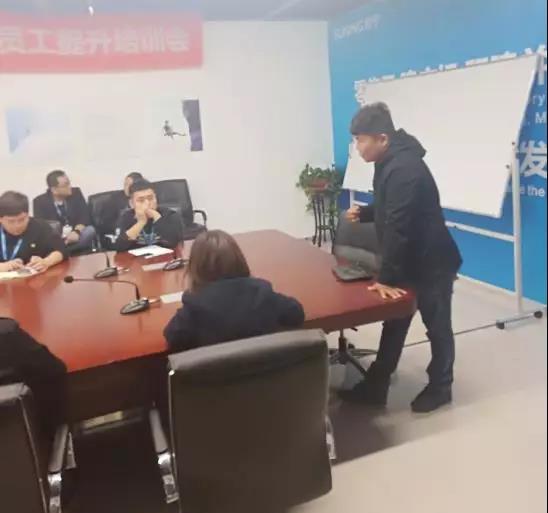博绿收收在唐山苏宁开展以旧换新培训会